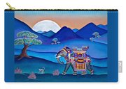 Elephant And Monkey Stroll Carry-all Pouch
