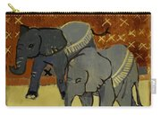 Elephant Calves Carry-all Pouch