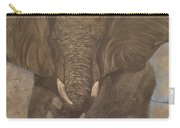 Elephant Charging Carry-all Pouch