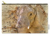 Elephant Color Splash Carry-all Pouch