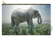 Elephant Eating Onions Carry-all Pouch