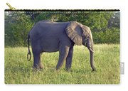 Elephant Feeding Carry-all Pouch