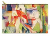 Elephant Horse And Cow Carry-all Pouch