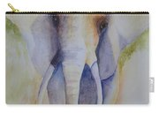 Elephant In The Grass Carry-all Pouch