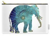 Elephant Maps Carry-all Pouch
