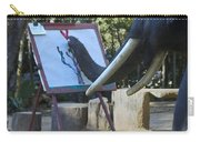 Elephant Painting Carry-all Pouch