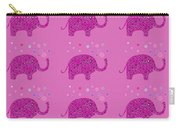 Elephant Pattern Carry-all Pouch