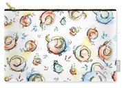Elephant Pattern Watercolor Carry-all Pouch