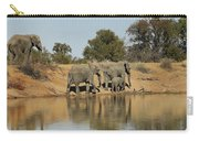 Elephant Refelction Carry-all Pouch