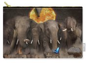 Elephant Run Carry-all Pouch