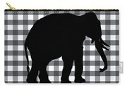 Elephant Silhouette Carry-all Pouch