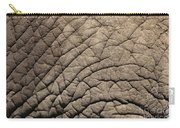 Elephant Skin Background Carry-all Pouch