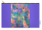 Elephant Spirit Carry-all Pouch by Denise Tomasura