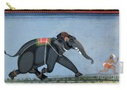 Elephant & Trainer, C1750 Carry-all Pouch