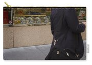 Elephants And Businessman Carry-all Pouch