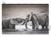 Elephants From Africa Carry-all Pouch