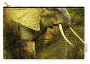 Elephants In The Golden Light Carry-all Pouch