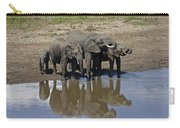 Elephants In The Mirror Carry-all Pouch