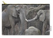 Elephants Playing 3 Carry-all Pouch