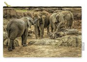 Elephants Social Carry-all Pouch