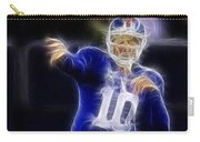 Eli Manning Carry-all Pouch by Paul Ward