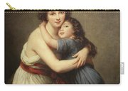 Elisabeth Vigee-lebrun, 1755-1842. Carry-all Pouch