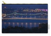 Elizabeth And Liberty Bridges Budapest Carry-all Pouch
