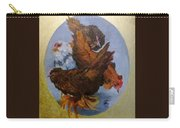 Elizabeth's Chickens Carry-all Pouch