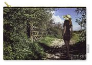 Eliza's Walk In The Countryside. Carry-all Pouch