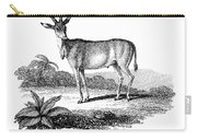 Elk Antelope Carry-all Pouch
