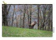Elk, Blue Ridge Mountain Carry-all Pouch