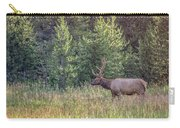 Elk In The Forest Carry-all Pouch
