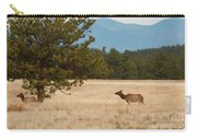 Elk In The Fossil Beds Carry-all Pouch