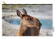 Elk In Yellowstone Carry-all Pouch