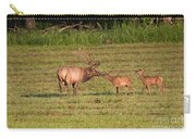 Elk Kisses Carry-all Pouch by Jemmy Archer