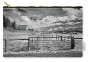 Elk River Valley In Infrared Carry-all Pouch