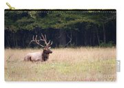 Elk Sitting Down Carry-all Pouch
