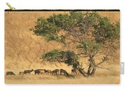 Elk Under Tree Carry-all Pouch