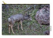Elk With Antlers Carry-all Pouch