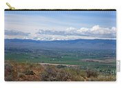Ellensburg Valley With Sagebrush And Lupine Carry-all Pouch