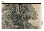 Elm Trees In Old Hall Park Carry-all Pouch by John Constable