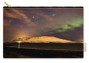 Elv Or Troll And Viking With A Sword In The Northern Light Carry-all Pouch