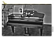 Elvis And The Black Piano ... Carry-all Pouch