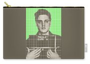 Elvis Army Mug Shot - Green Carry-all Pouch