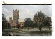 Ely Cambridgeshire, Uk.  Ely Cathedral  Carry-all Pouch