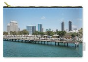 Embarcadero Marina Park South Pier Close Up Carry-all Pouch