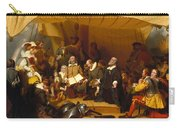 Embarkation Of The Pilgrims Carry-all Pouch