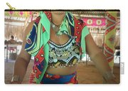 Embera Indian Lady Serving A Meal Carry-all Pouch