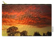 Embossed Sunrise Carry-all Pouch