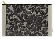 Embroidered Lace Carry-all Pouch